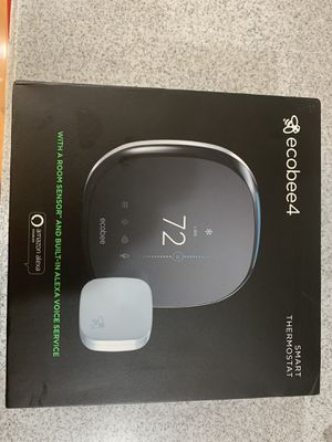 Echobee4 Smart Thermostat w Room Sensor and Alexa for Sale in Bowie, MD