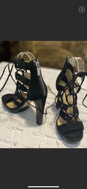 Michael Kors Black Lace up Heels Size 7 for Sale in Las Vegas, NV