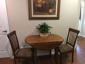 Small table and two chairs. $85.00 for Sale in CANAL WNCHSTR, OH