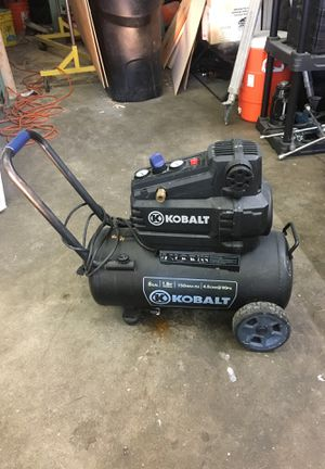 Kobalt air compressor 8gal for Sale in Auburn, WA