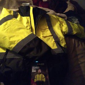Brand New Reflective Work Jacket for Sale in Monroe, WA