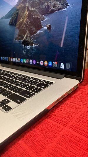 MacBook Pro (Retina, 15-inch, late 2013) 500 Gig hard drive, 8GB memory, macOS Catalina for Sale in Fullerton, CA