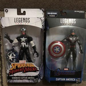 Marvel Legends Series Captain America Bundle for Sale in Chula Vista, CA