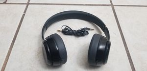 Beats by dr dre solo 2 black wired for Sale in Peoria, AZ