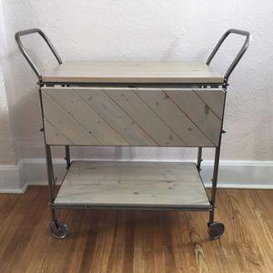 Drop Leaf Storage Cart / Serving Cart for Sale in North Tonawanda, NY
