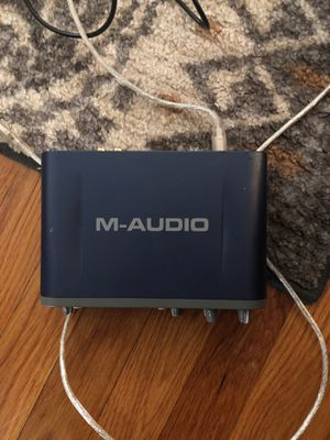 M-Audio Fast Track Pro for Sale in Hanscom Air Force Base, MA