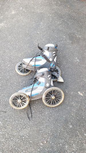 LandRoller large wheels roller street skates for Sale in Frederick, MD