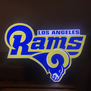 L.A Rams Large Beer Sign Front Restaurant for Sale in Upland, CA