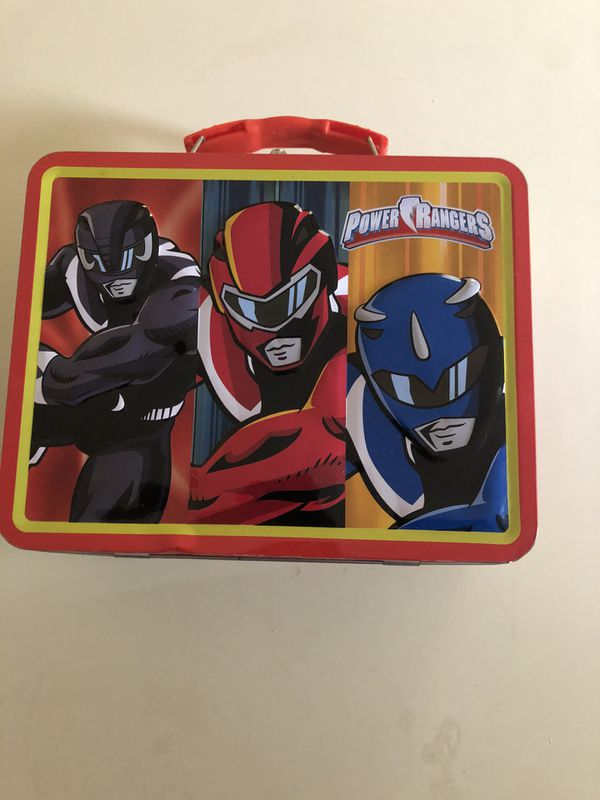 Vintage Power Rangers Tin Box