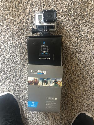 GoPro Hero 3 (Opened but never used) for Sale in Silver Spring, MD