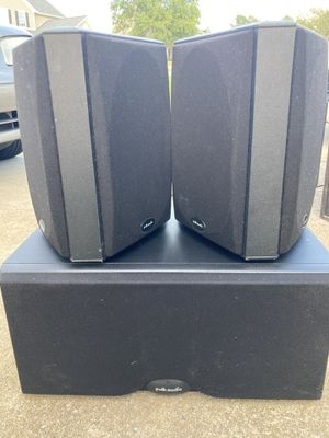 Polk Audio CS400i Center and FX300I Side Channel Speakers for Sale in Peachtree Corners, GA