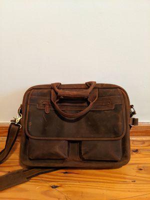 "Kattee Men's Leather Durable Briefcase, 16"" Laptop Bag for Sale in Atlanta, GA"