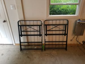 Full size collapsable metal bed frame for Sale in Morgantown, WV