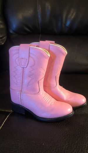 Brand new adorable girls cowboy boots for Sale in Holly Springs, NC