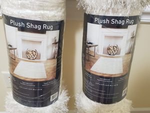 Plush shag rugs for Sale in New Bern, NC