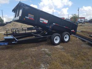 7'x14' dump trailer for Sale in Georgetown, TX