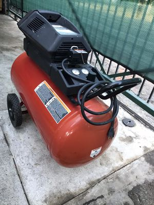 Compressor craftsman twin cylinder for Sale in Los Angeles, CA
