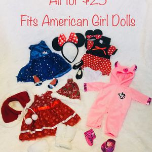 "New! 18"" Doll Clothes Bundle for Sale in Batavia, IL"