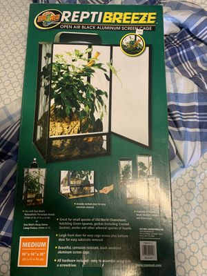 Reptile screen cage for Sale in Pflugerville, TX