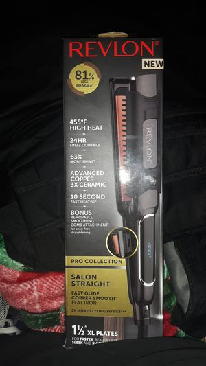 Revlon hair straightener pro collection never opened for Sale in Portland, OR