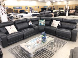 BRAND NEW POWER SECTIONAL SOFA GRAY WITH 3 RECLINERS for Sale in Fort Worth, TX