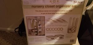 new closet orgnizer set. for Sale in Strongsville, OH
