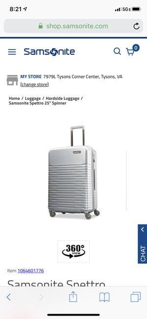 Samsonite 25'' Spinner Suitcase for Sale in Arlington, VA