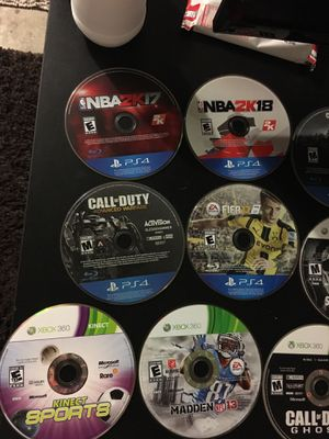 PS4, Xbox 360 games for Sale in Daly City, CA