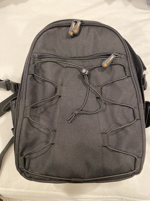 AmazonBasics Backpack for SLR/DSLR Camera and Accessories - 11 x 6 x 15 Inches, Black for Sale in Santa Ana, CA