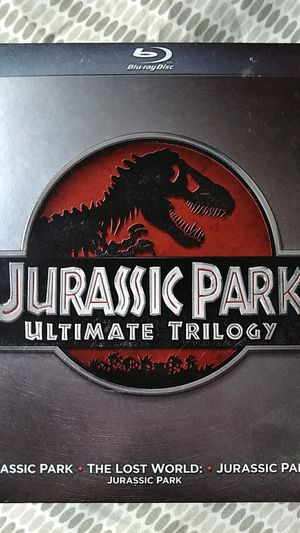 Jurassic Park Ultimate Trilogy BluRay for Sale in Menasha, WI