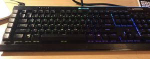 Corsair k95 rgb Platinum silver switch keyboard for Sale in West Lafayette, IN