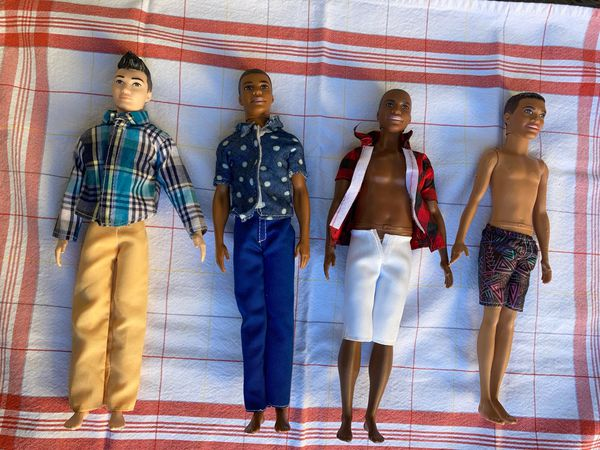 Bundle Dolls 4pcs (Mattel)