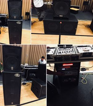 Complete DJ Equipment set for Sale in South San Francisco, CA