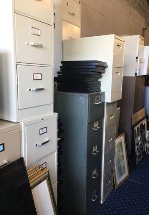 Warehouse of file cabinets for Sale in Detroit, MI
