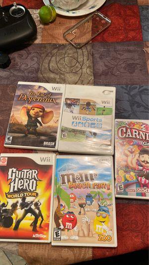 Wii diferentes juegos for Sale in Cerritos, CA