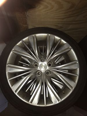 20' Chevy impala rims and tires for Sale in Baltimore, MD