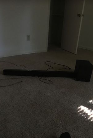 Sounbar with subwoofer very loud for Sale in Newport News, VA