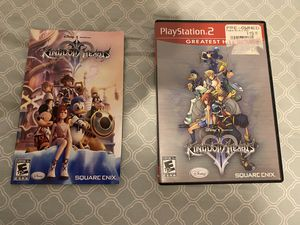 replacement case kingdom hearts 2. NO GAME for Sale in Poway, CA