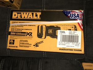 DeWalt compact reciprocating saw TOOL ONLY $120 for Sale in Las Vegas, NV