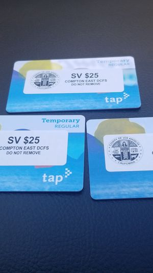 Taps cards for Sale in Inglewood, CA