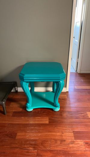 Turquoise end table side table for Sale in Whittier, CA