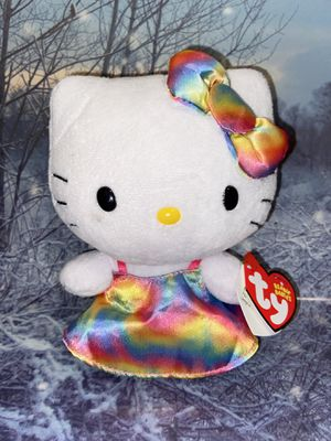 "Rainbow Dress Hello Kitty Plush 9"" for Sale in Lakewood, CA"
