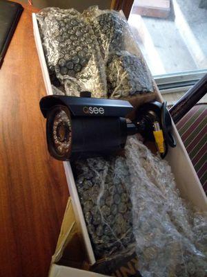 4- Qsee security cameras for Sale in Manton, MI