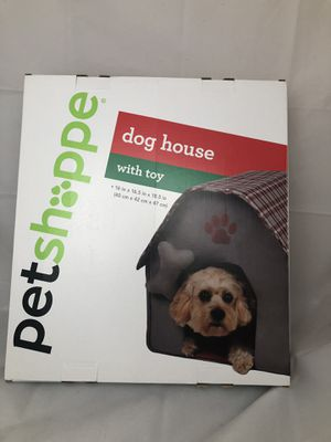 Dog Bed House with Toy NEW Petshoppe for Sale in San Leandro, CA
