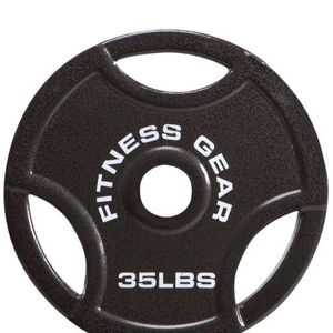 Fitness gear (2) 35 Lb Olympic Plates for Sale in Chino, CA