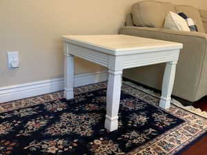 $60.00 Solid Wood End Table for Sale in Danville, CA