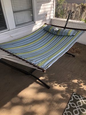 Hammock and hammock stand for Sale in Tampa, FL
