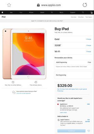 Ipad latest 7th gen , brand new 32gb wifi for Sale in Rockville, MD
