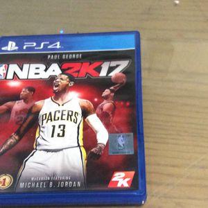 PS4 NBA 2k17 for Sale in Hialeah, FL
