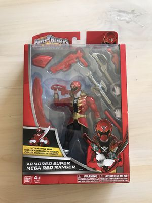 Power Rangers Super Megaforce Bandai New In Box Figure for Sale in Cerritos, CA